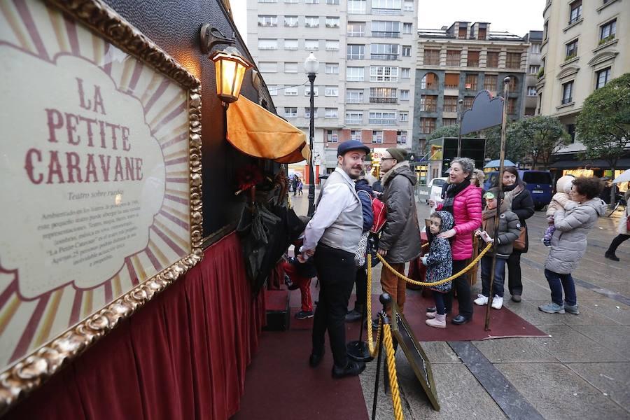 Feten vuelve a llevar público a distintos escenarios de Gijón