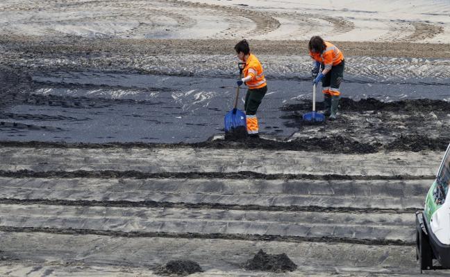 Emulsa retiró tres toneladas de sedimentos durante la primera bajamar