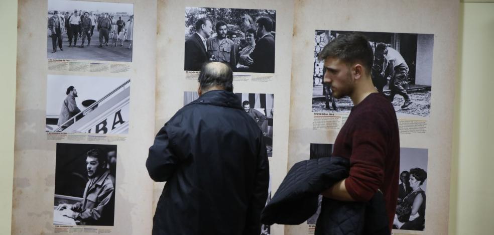 Imágenes inéditas del 'Che' Guevara en una muestra en San Martín