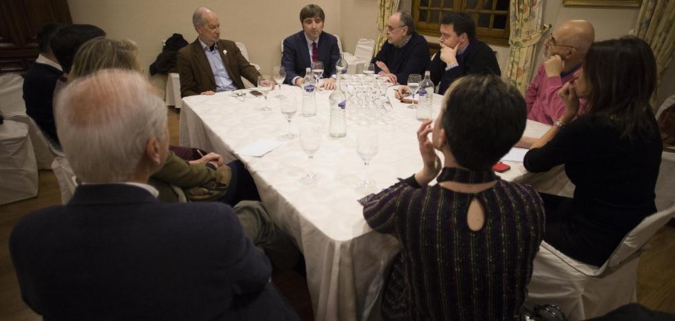 Alfonso Palacio, en las Conversaciones de EL COMERCIO