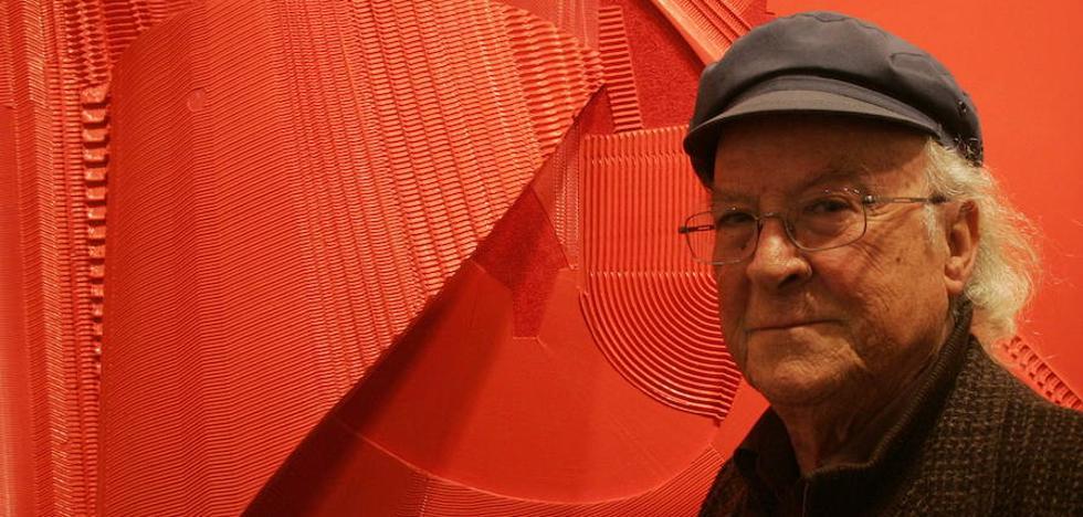 Muere Alejandro Mieres, el artista de la geometría sin límite