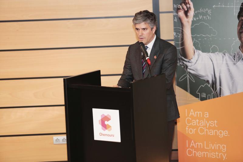 Inauguración de la sede de Chemours en Gijón