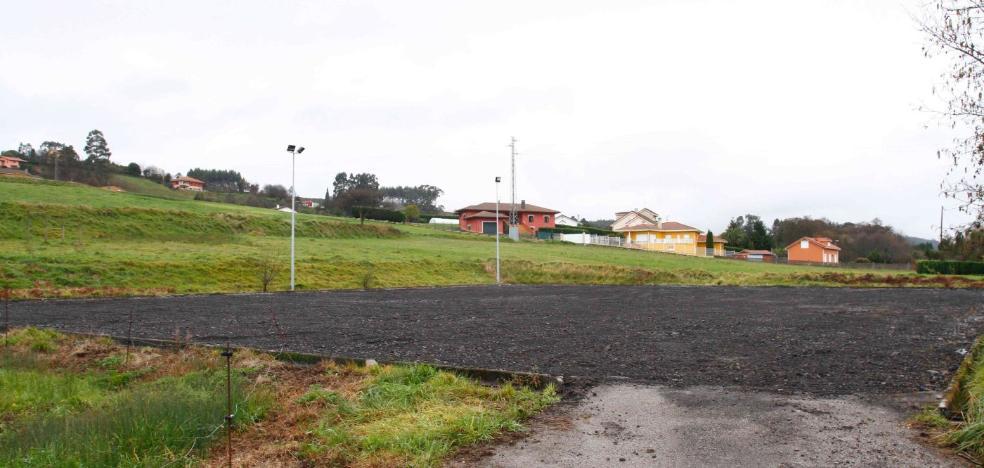 Renovación de la pista de Naveces