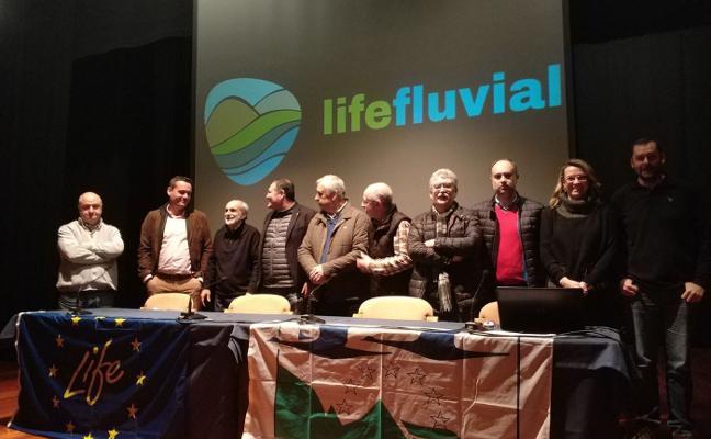 El plan Life Fluvial eliminará especies invasoras en sesenta kilómetros del río Eo