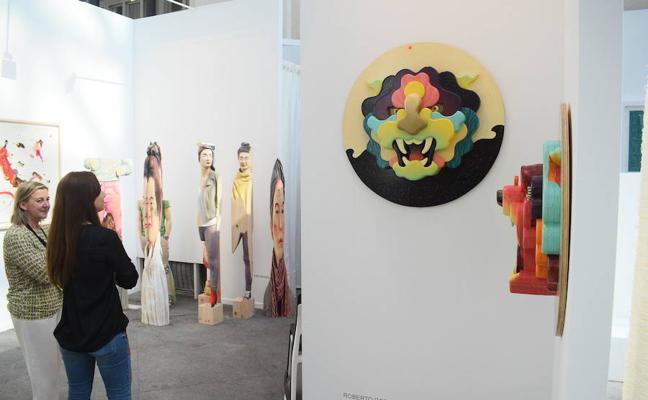 El arte asturiano, muy presente en ARCO