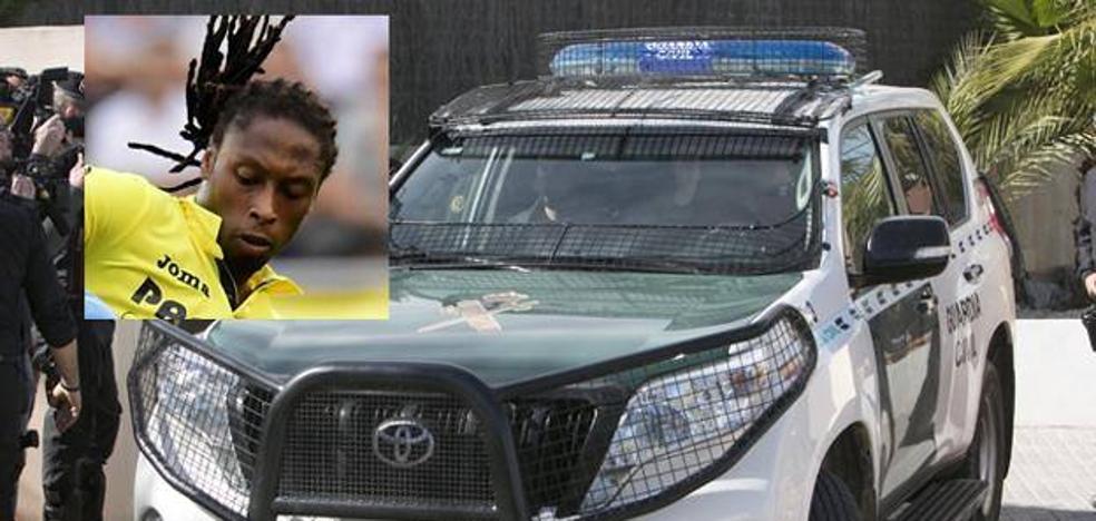 La Guardia Civil encuentra la pistola de Semedo tras registrar su chalé y la discoteca que había montado en un sótano