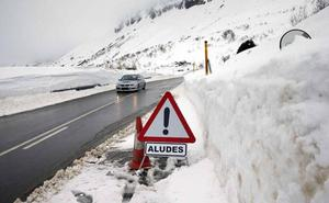 La cota de nieve se situará hoy en los 600 metros y llega más frío
