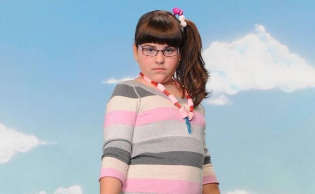 Aidita, la niña de la serie 'Aída', sorprende con un espectacular cambio físico