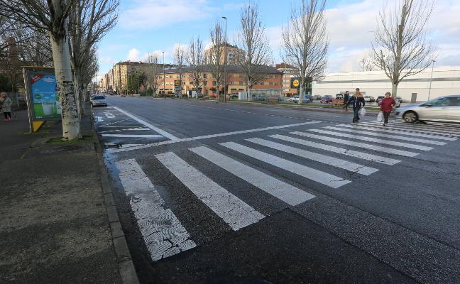 El paso de cebra Gutiérrez Herrero se adelantará y tendrá semáforo