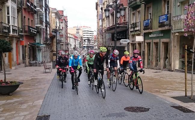 El segmento de ciclismo del Nacional, también por Avilés