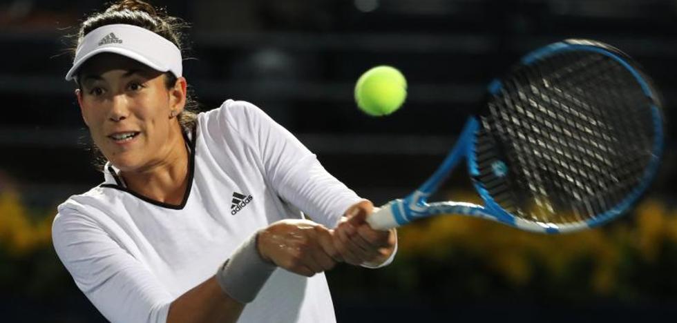Garbiñe Muguruza se medirá a Daria Kasatkina en semifinales