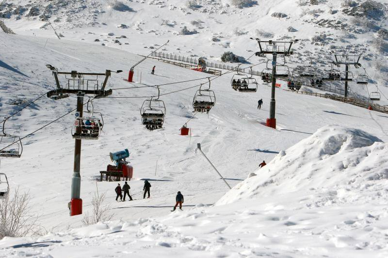La mejor nieve de España está en Asturias