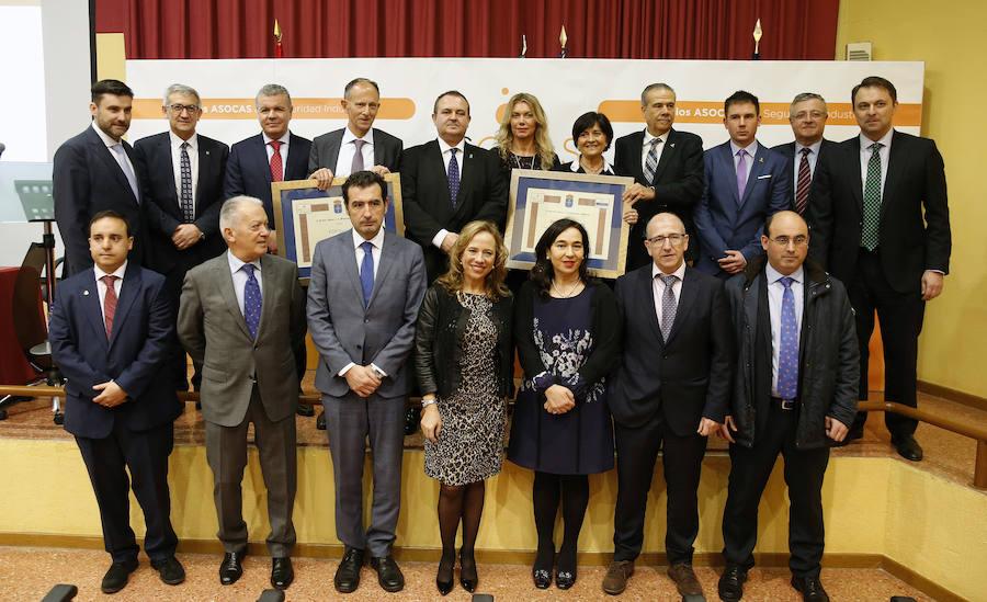 EdP y Aguas de Fuensanta, premios Asocas a la Seguridad Industrial