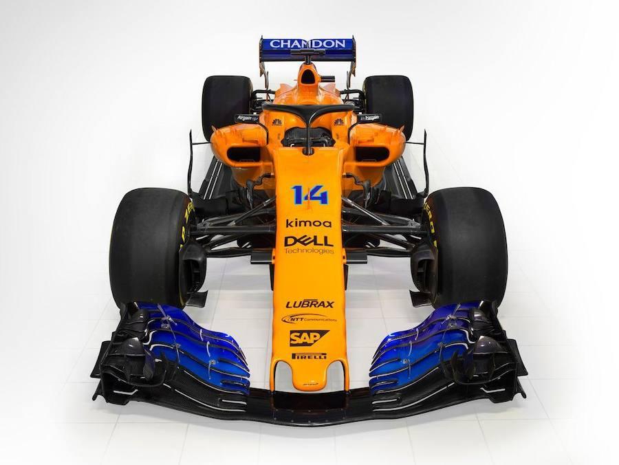 Así es el MCL33 de Fernnado Alonso