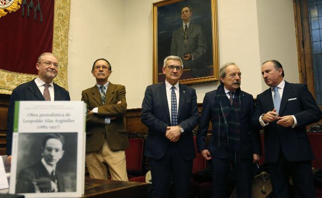 Presentan la obra periodística de Alas Argüelles