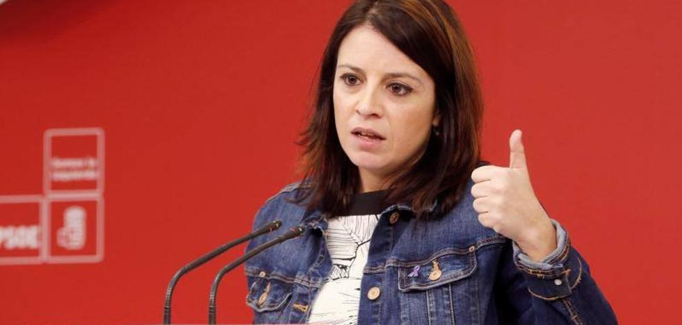 Adriana Lastra define a Javier Fernández como un «referente socialista»