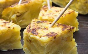 Tortillas de concurso, en Gijón