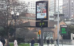 Asturias tirita a siete grados bajo cero