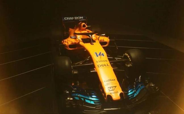 El MCL33 de Alonso para luchar por el Mundial