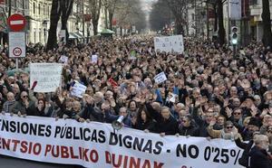El PSOE anima la movilización de los pensionistas y pide una subida del 1,6%