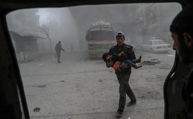 El Consejo de Seguridad votará hoy un borrador de resolución que pide una tregua de 30 días en Siria