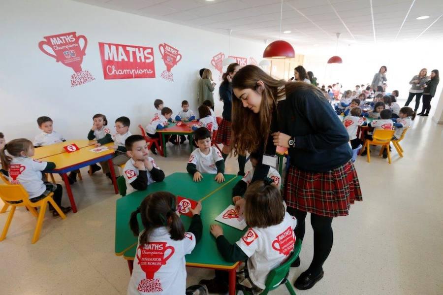 Concurso de matemáticas MATHS Champions para alumnos de Educación Infantil