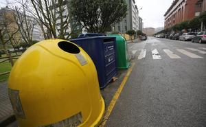 El reciclaje creció un 6,3% el año pasado hasta los 75,3 kilos por asturiano