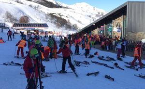 Las pistas de esquí de Asturias, listas para el lleno