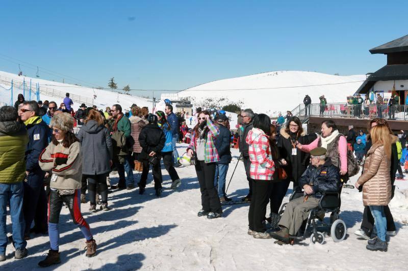 Asturias disfruta de una jornada perfecta de nieve y deporte