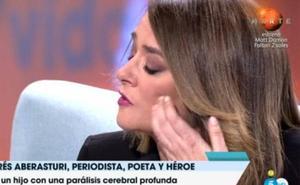 Toñi Moreno se derrumba en directo en 'Viva la vida'