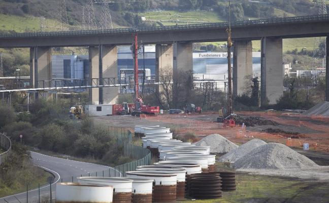 El acceso a la ZALIA llega a sus primeros 500.000 euros de obra ejecutados