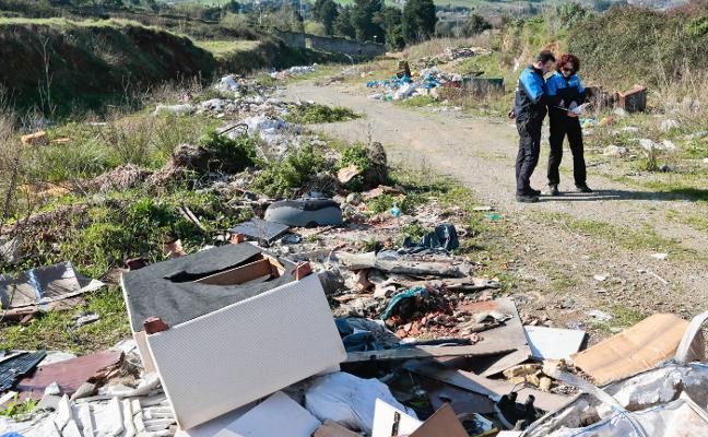 La Policía de Vigilancia Ambiental denunció medio centenar de vertederos ilegales
