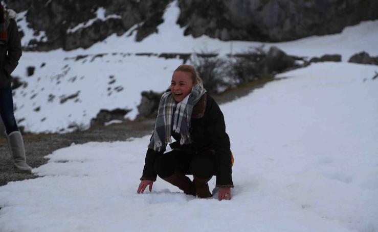 Asturias se protege del frío siberiano