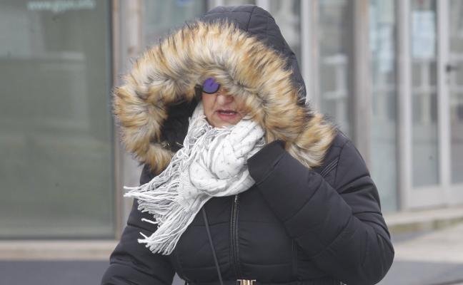 'Emma' lleva el frío y la nieve a la costa
