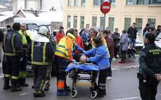 Atropellan a una mujer en un paso de peatones de Pola de Laviana