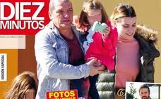 Gustavo González ya ejerce de padrazo con las hijas de María Lapiedra