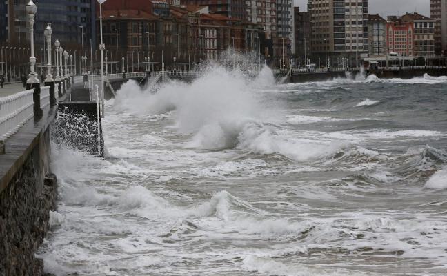 Asturias, del frío a vientos de hasta 101 kilómetros por hora