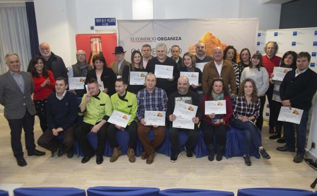 Seis tortillas de patata de premio en Gijón