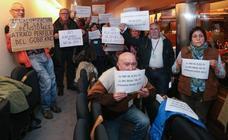 Bronca y crispación en la Junta General en el debate sobre las pensiones