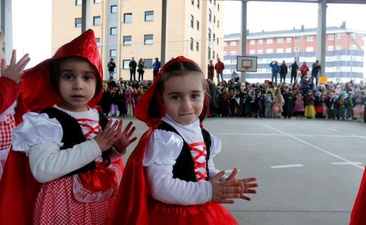Semana cultural en el colegio Ángel González de Oviedo