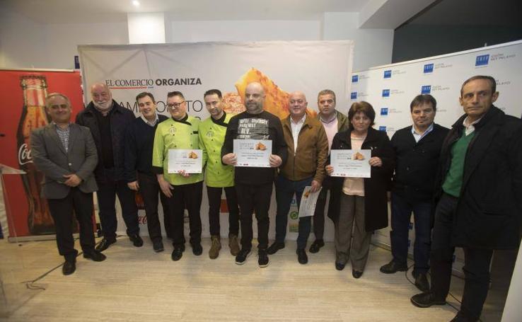 Las imágenes del VIII Campeonato de Tortillas de Gijón organizado por EL COMERCIO