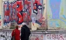 Oviedo tiene «cerca de mil pintadas» de ochenta autores distintos catalogadas