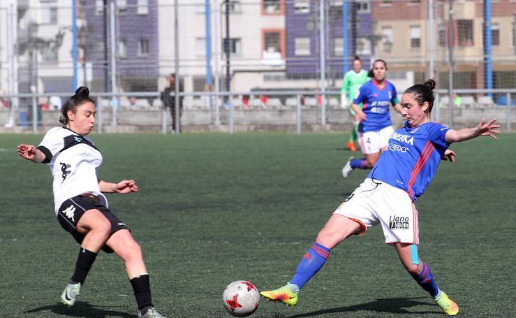 Las imágenes del Real Oviedo femenino - C. F. Vitoria