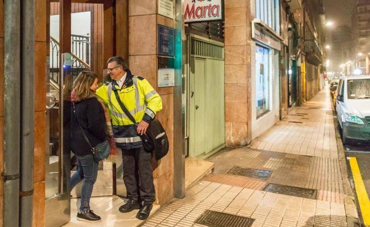 Serenos para aumentar la protección y la seguridad en Gijón
