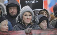 La única mujer candidata a las presidenciales rusas sufre un nuevo ataque