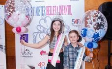 Xenia García y Yago Pérez se convierten en Miss y Mister Asturias infantil