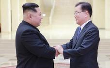 Kim Jong Un espera «escribir una nueva historia de reunificación» con Corea del Sur