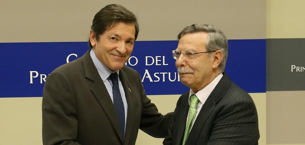 Javier Fernández critica que se culpe al Principado de los incendios