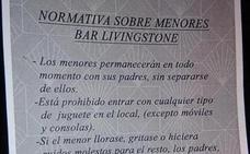 Las polémicas 'normas para niños' de un bar de Salamanca: ni juguetes, ni gritar, ni llorar...