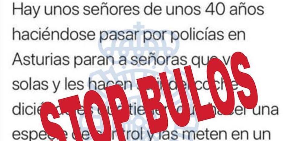 La Policía Nacional alerta de un bulo sobre la existencia de una banda de secuestradores en Asturias